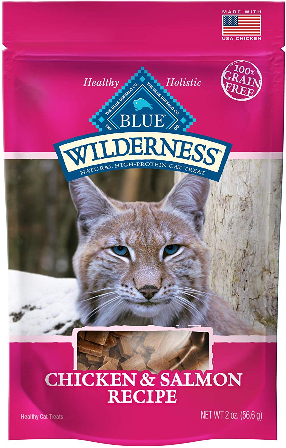 Blue Wilderness Grain-Free Chicken & Salmon Treats
