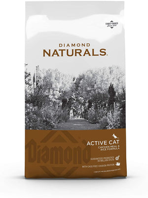 Diamond Naturals Active Cat Chicken Meal & Rice