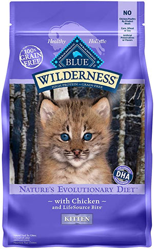 Blue Wilderness Nature's Evolutionary Diet Grain-Free for Kittens