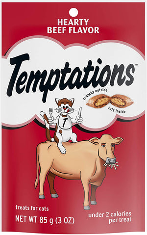 Temptations Hearty Beef Flavor Treats