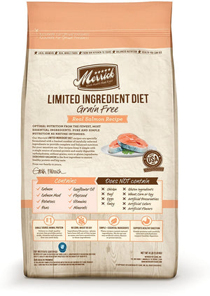 Limited Ingredient Diet Grain-Free Real Salmon Recipe