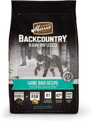 Backcountry Raw Infused Game Bird Recipe