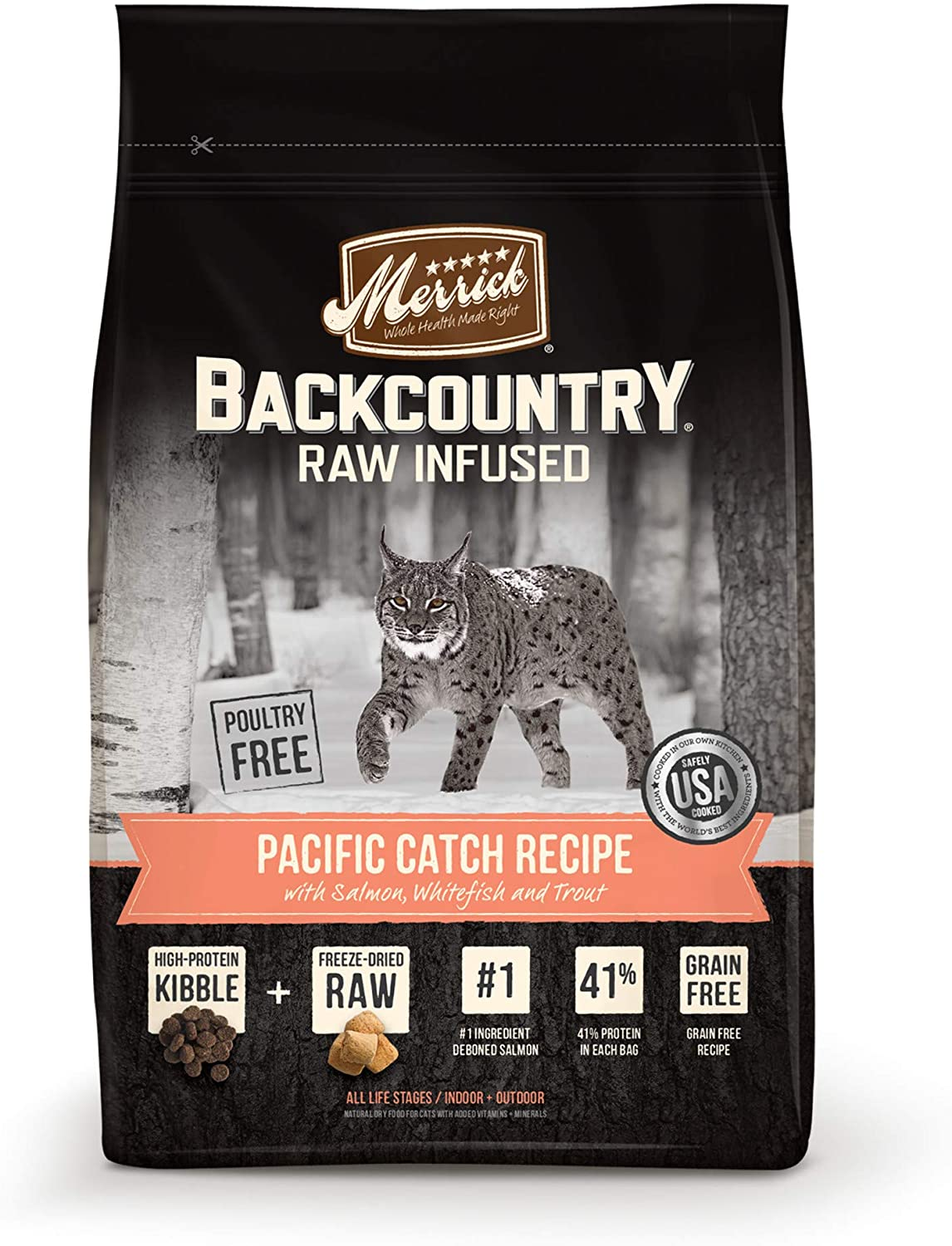 Backcountry Raw Infused Pacific Catch Recipe
