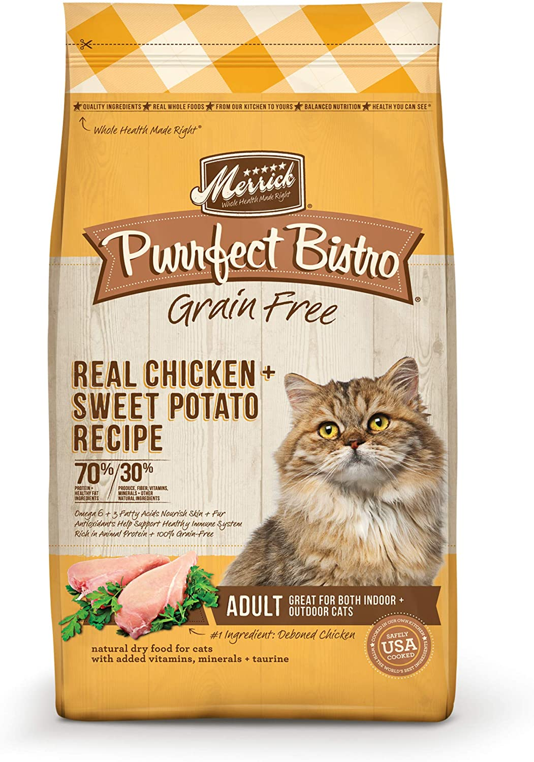 Purrfect Bistro Adult Grain-Free Chicken & Sweet Potato