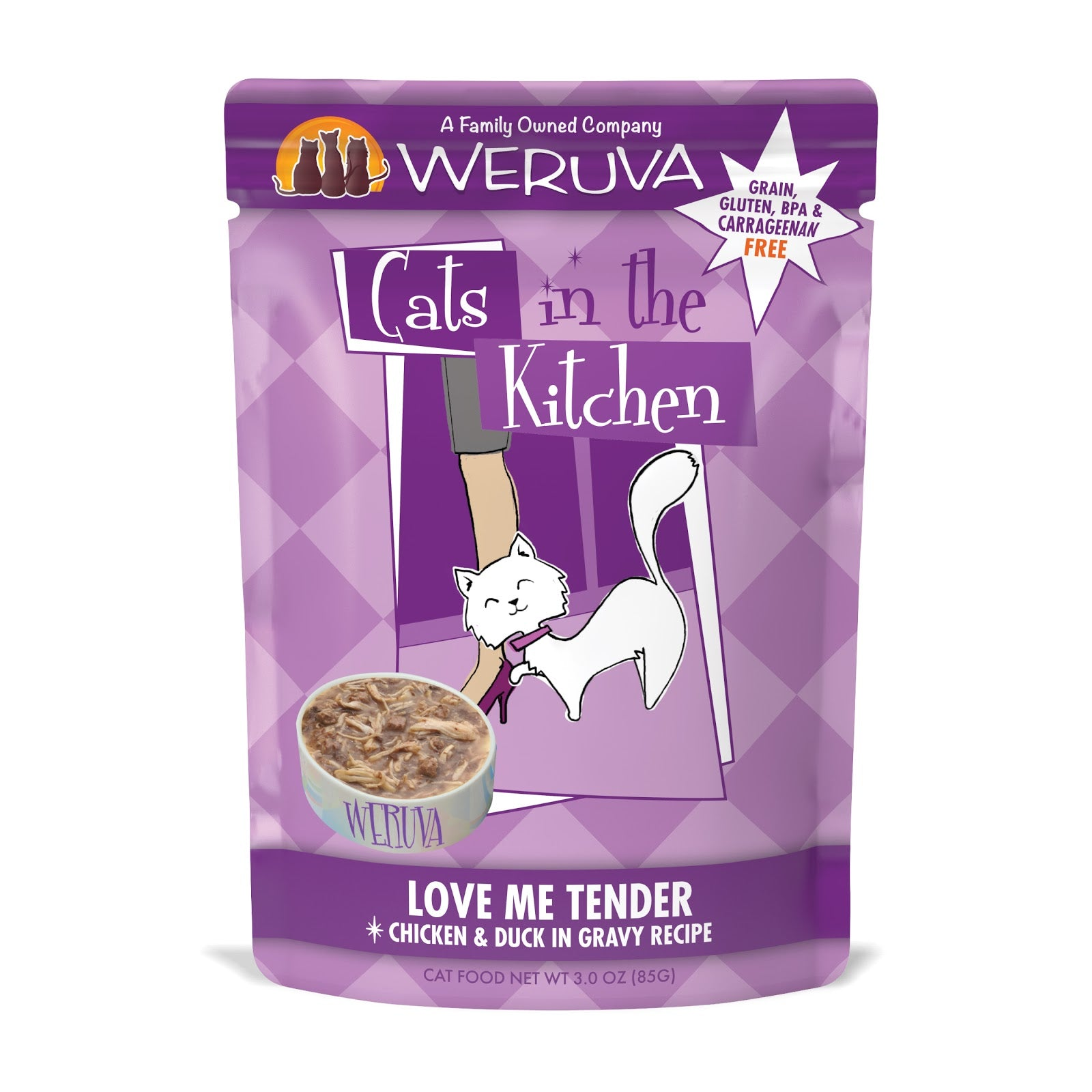Cats in the Kitchen Love Me Tender with Chicken & Duck in Gravy