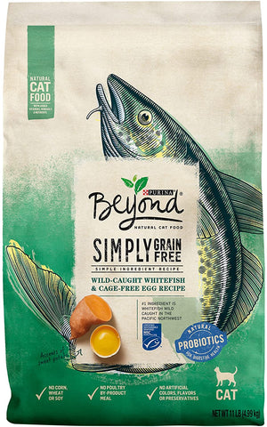 Beyond Simply Grain-Free Ocean Whitefish & Egg Recipe