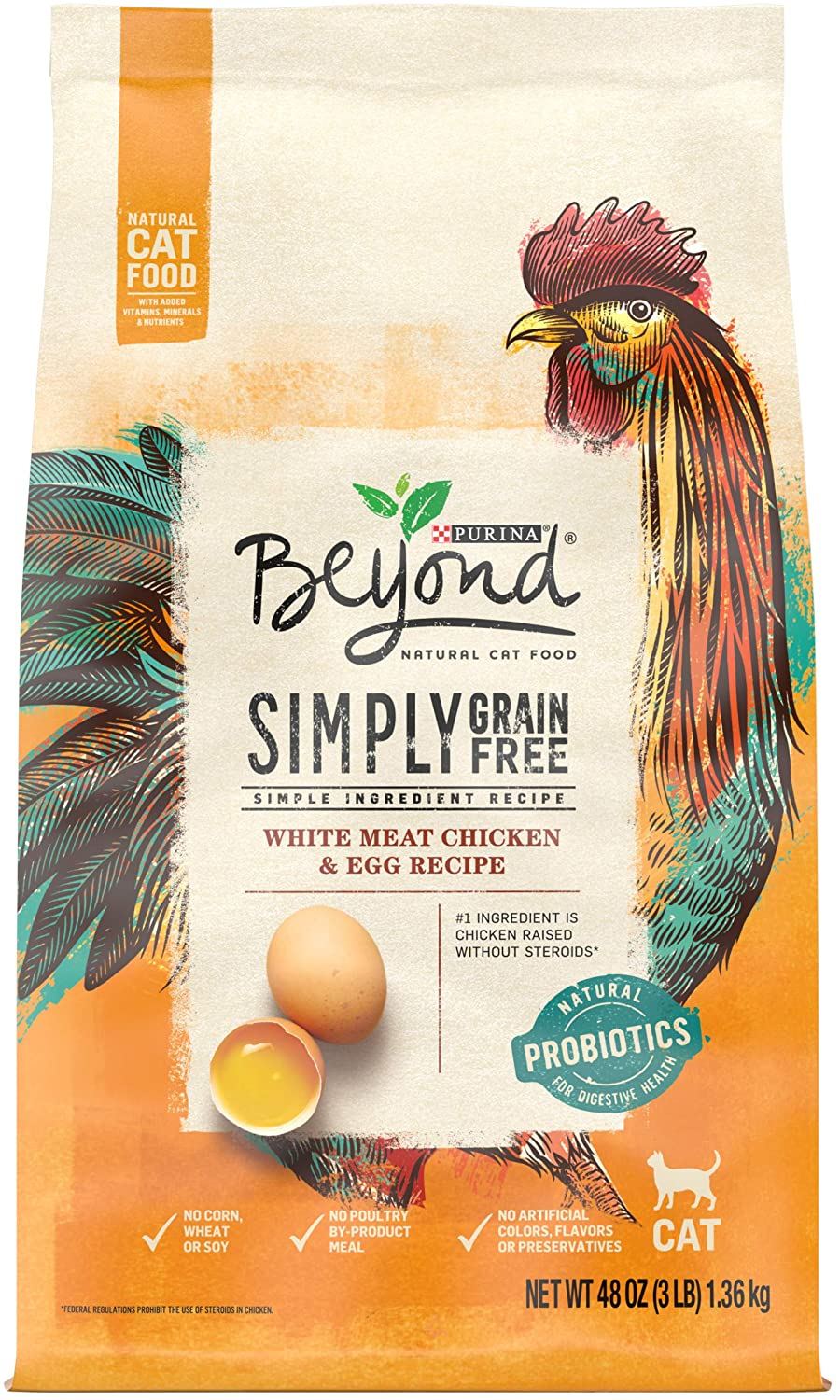 Beyond Simply Grain-Free White Meat Chicken & Egg Recipe