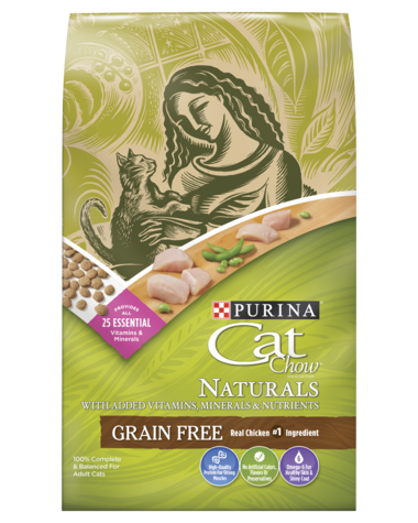 Cat Chow Naturals Grain-Free with Real Chicken