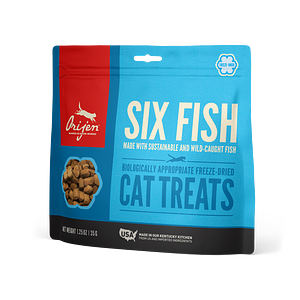 Six Fish Freeze-Dried Treats