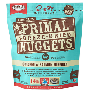 Chicken & Salmon Freeze-Dried Nuggets