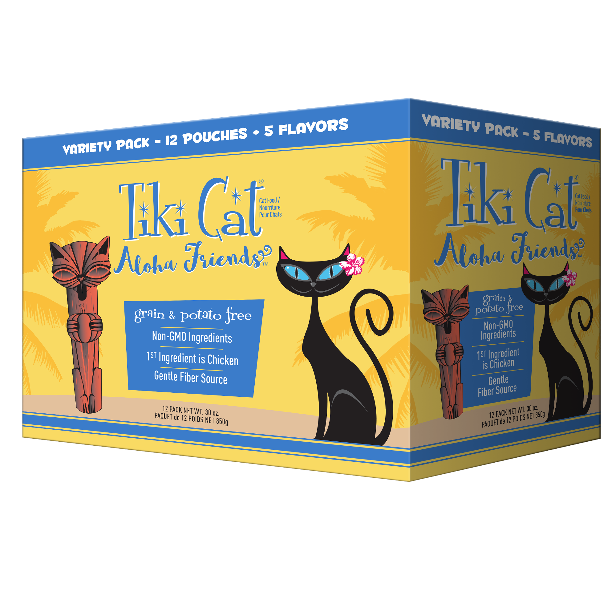 Tiki Cat Aloha Friends Chicken Variety Pack