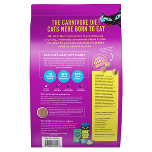 Tiki Cat Born Carnivore Grain-Free Chicken, Herring & Salmon Recipe
