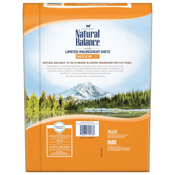 Limited Ingredient Diets Grain-Free Indoor Turkey & Chickpea