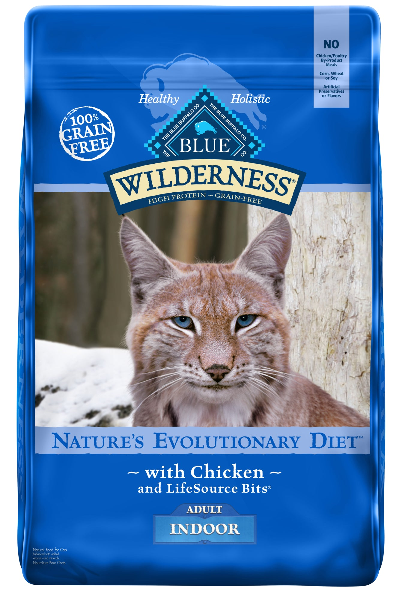 Blue Wilderness Nature's Evolutionary Diet with Chicken Indoor Recipe