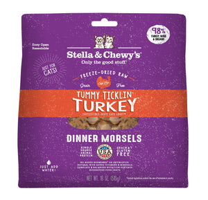 Tummy Ticklin' Turkey Freeze-Dried Raw Dinner Morsels