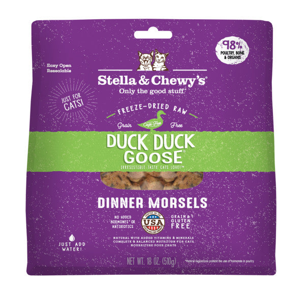 Duck Duck Goose Freeze-Dried Raw Dinner Morsels