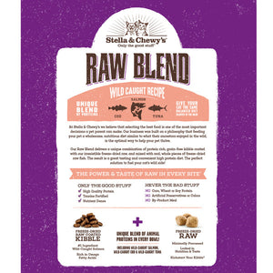 Raw Blend Kibble Wild-Caught Recipe