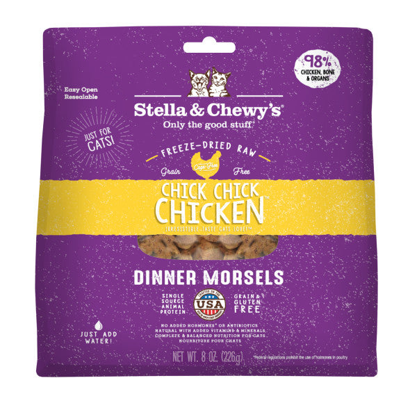 Chick Chick Chicken Freeze-Dried Raw Dinner Morsels