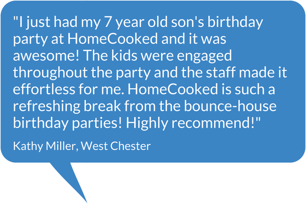 HomeCooked Party Testimonial - Kathy Miller, West Chester