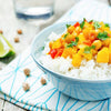 Butternut Squash & Chickpea Thai Coconut Curry (vegan!)  -  Vegetarian