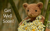 Get Well Soon Bear Gift Card  -  Gift Card