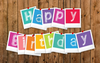 Happy Birthday Gift Card  -  Gift Card