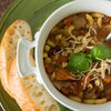Vegetarian Pasta e Fagioli Stew with Ciabatta Bread  -  Vegetarian