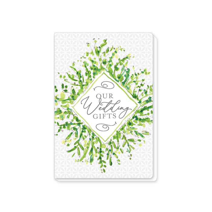 Our Wedding Gifts Handpainted Greenery Wedding Journal