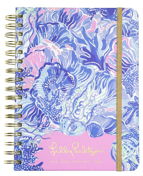 2021 Lilly Pulitzer 17 Month Large Agenda, Shade Seekers