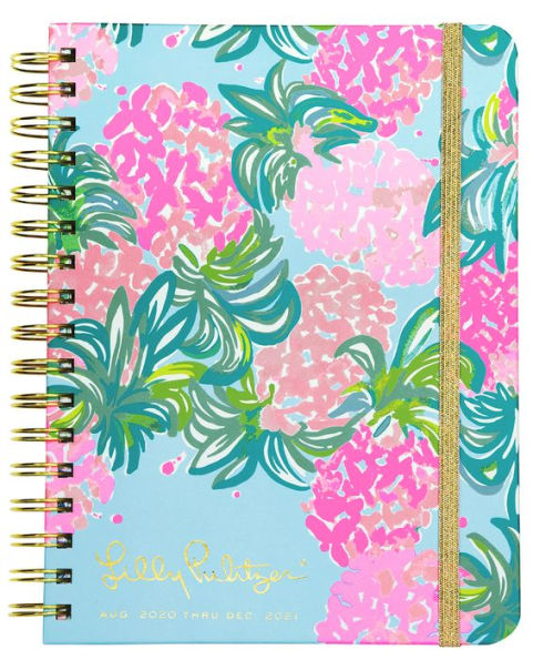 2021 Lilly Pulitzer 17 Month Large Agenda, Pineapple Shake