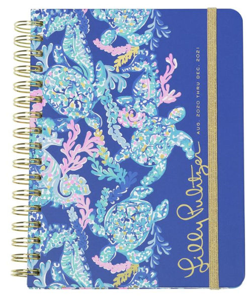 2021 Lilly Pulitzer 17 Month Large Agenda, Turtle Villa