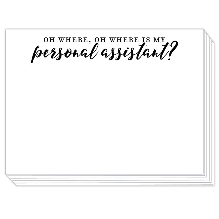 Personal Assistant? Slab Pad