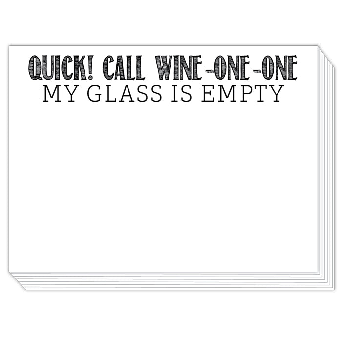 Quick! Call Wine-One-One Slab Pad