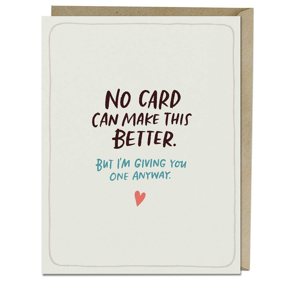 Make This Better Empathy Greeting Card