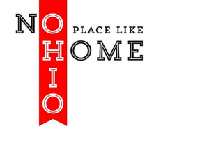 No Place Banner Postacard
