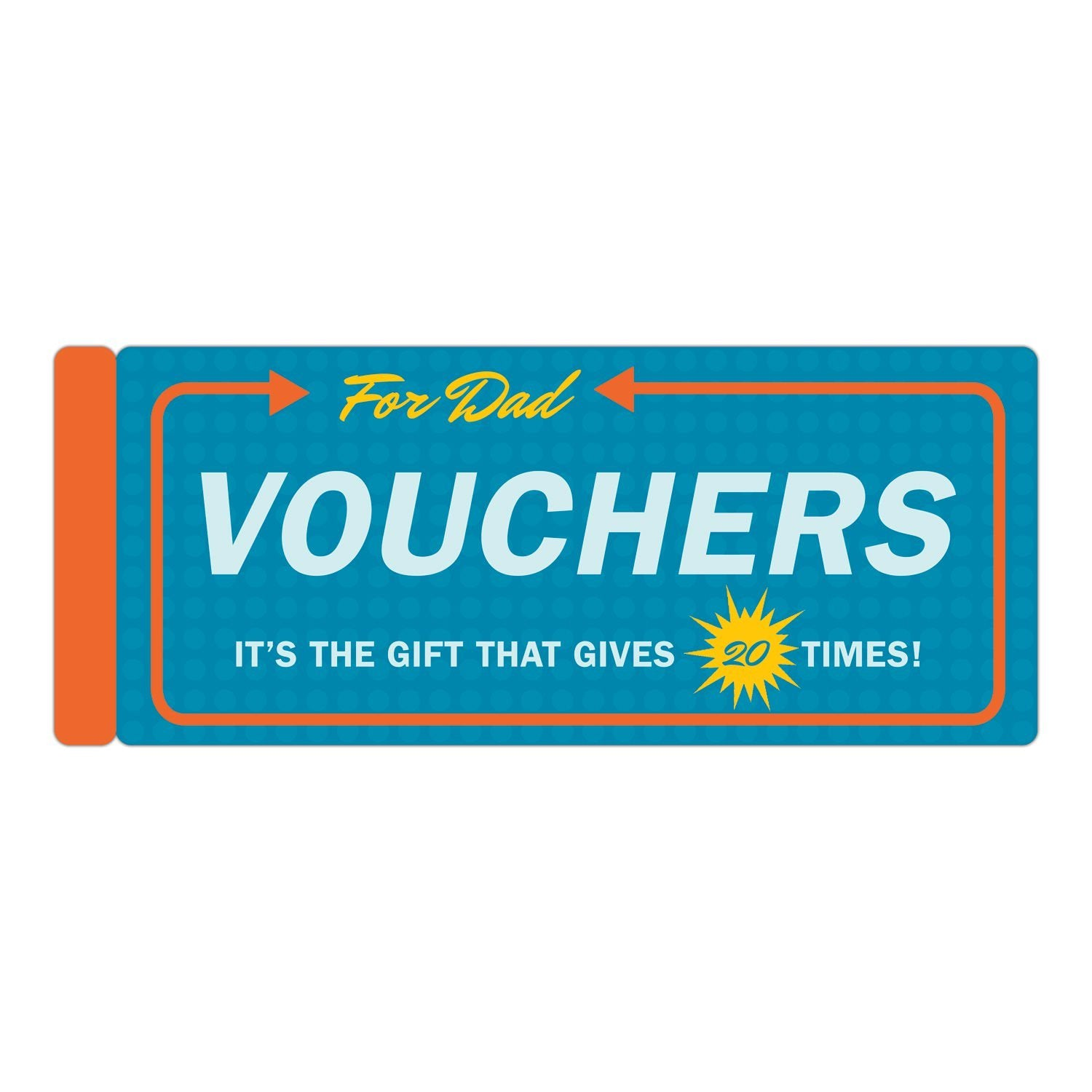 Knock Knock® Vouchers for Dad