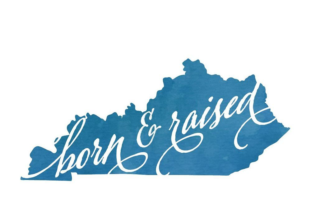 Kentucky Born & Raised Postcard
