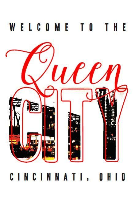 """Queen City"" Hometown Collection Postcard"