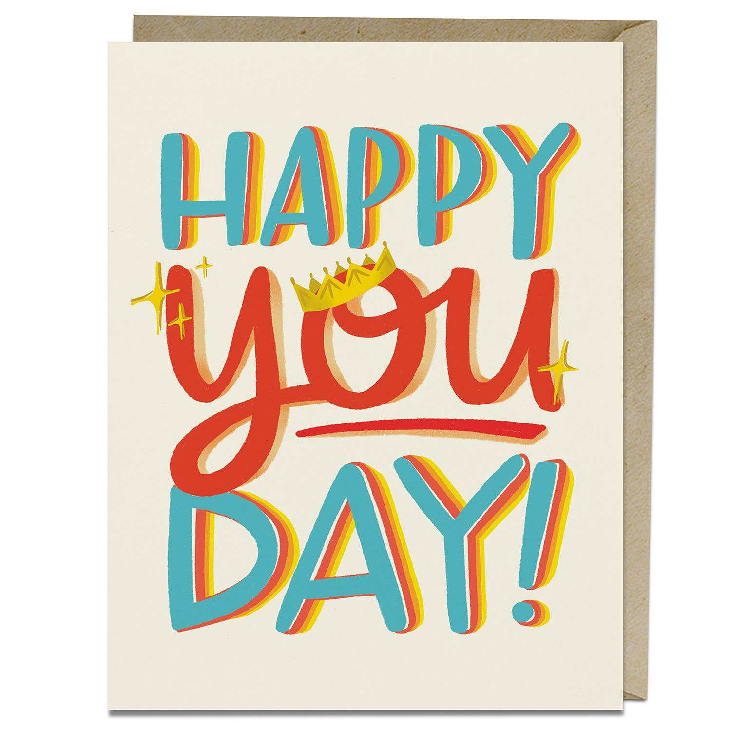 Happy You Day Birthday Greeting Card