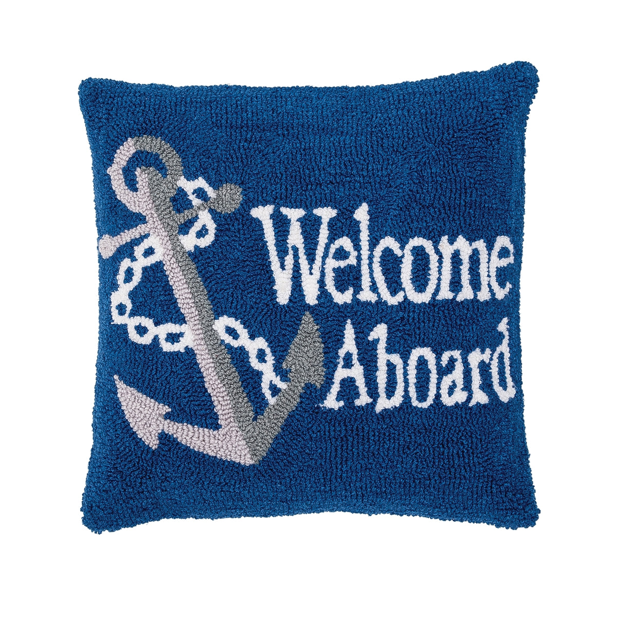 Welcome Aboard Pillow