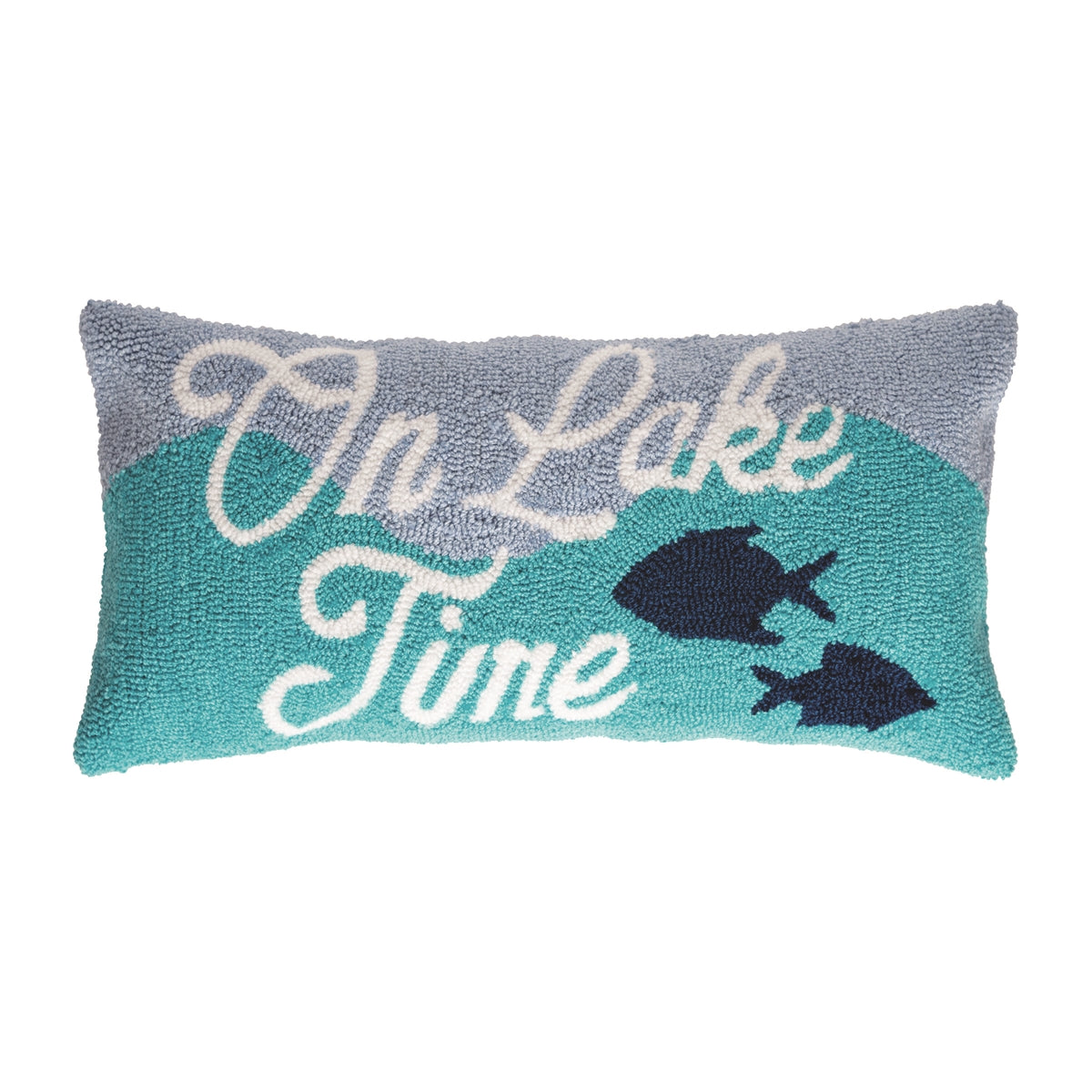 On Lake Time Pillow