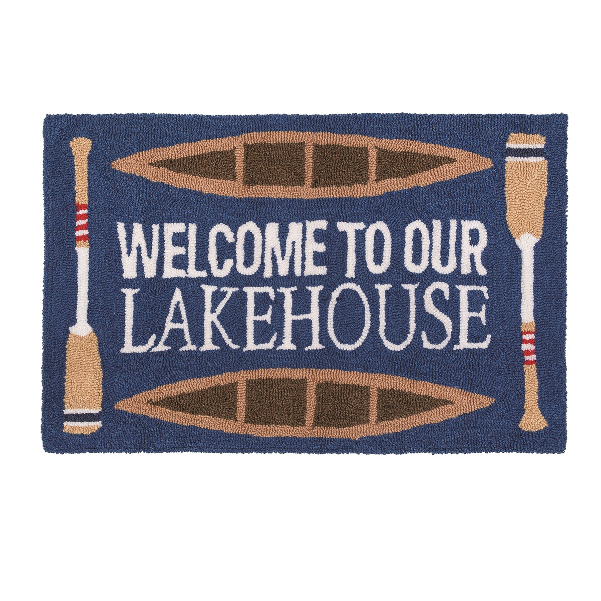 Welcome To Our Lakehouse Rug