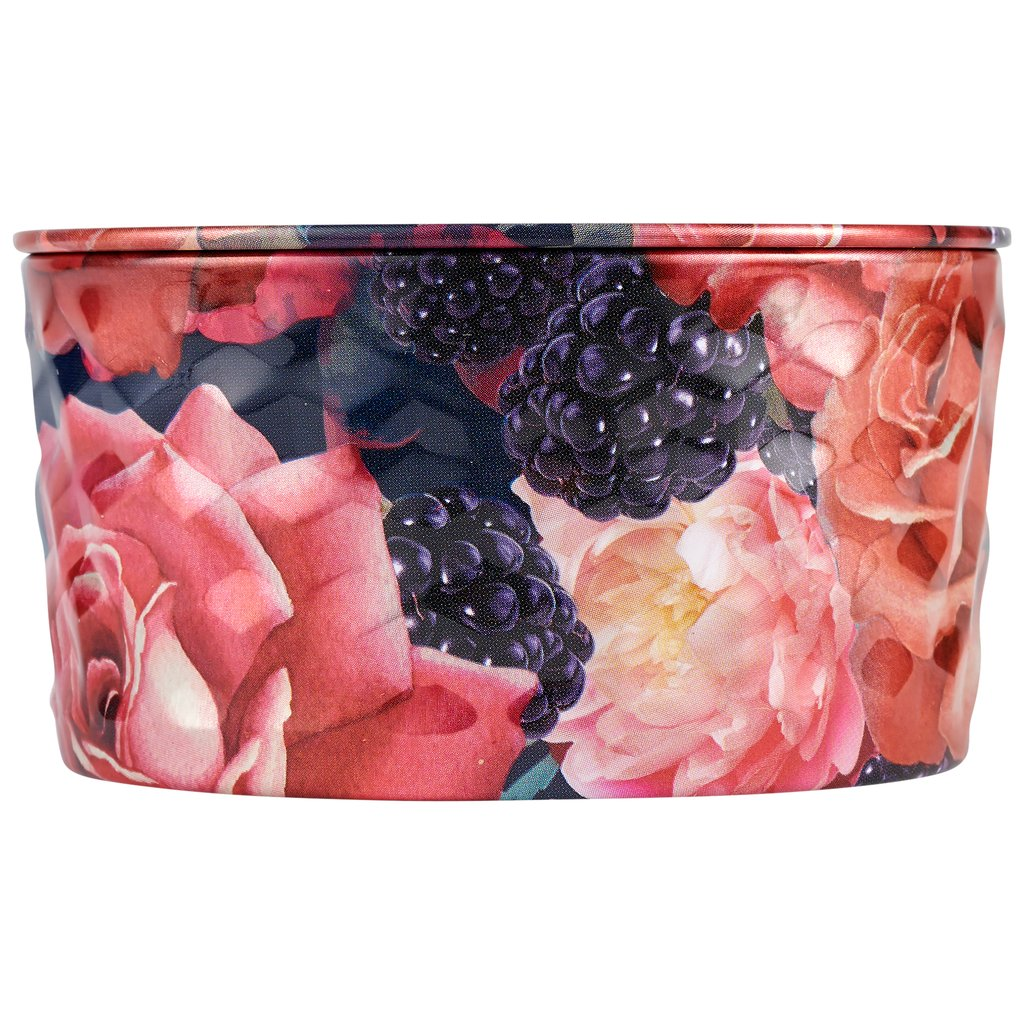 Voluspa Blackberry Rose Oud 2-Wick Tin Candle