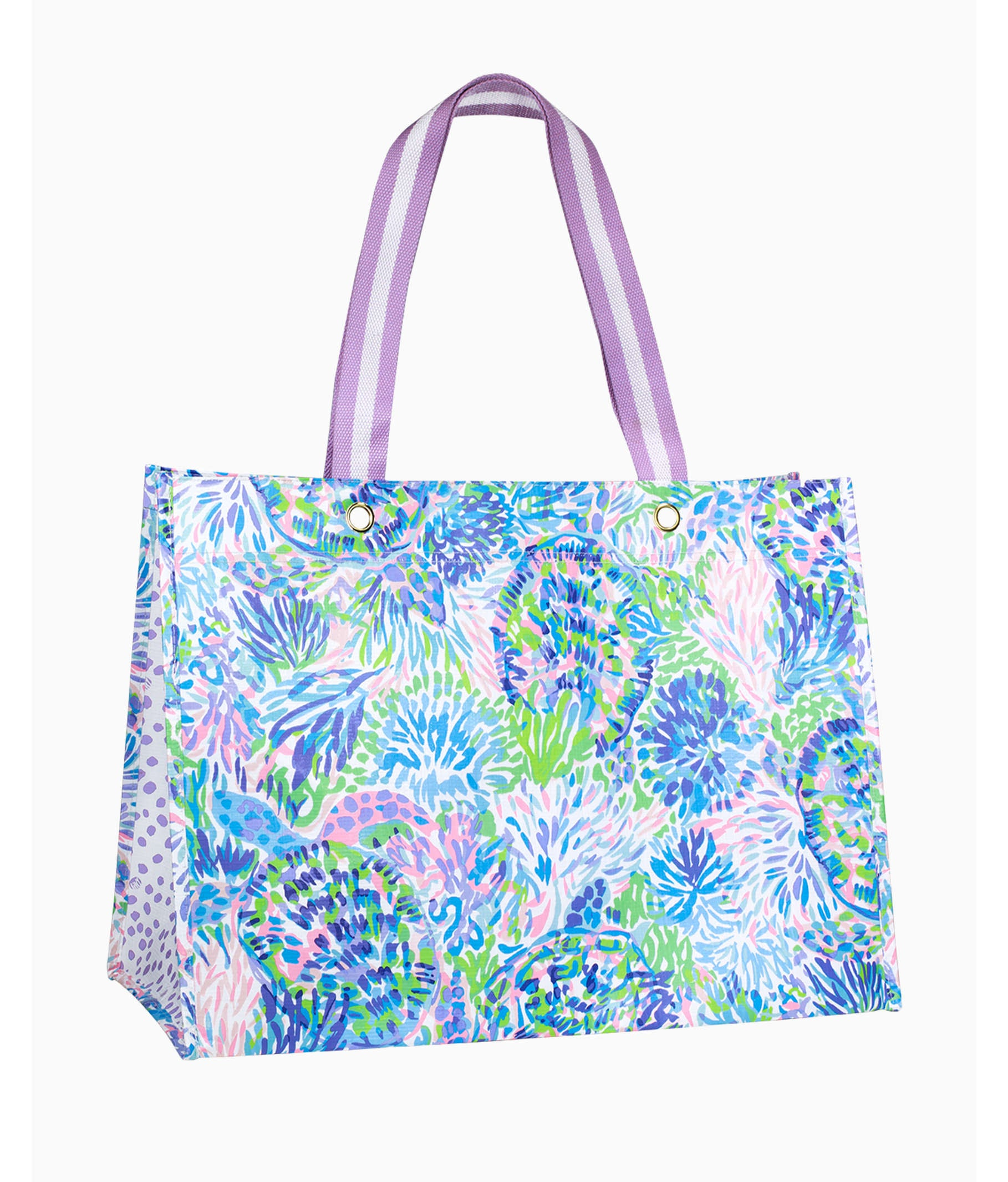 Lilly Pulitzer XL Market Tote, Shell of A Party