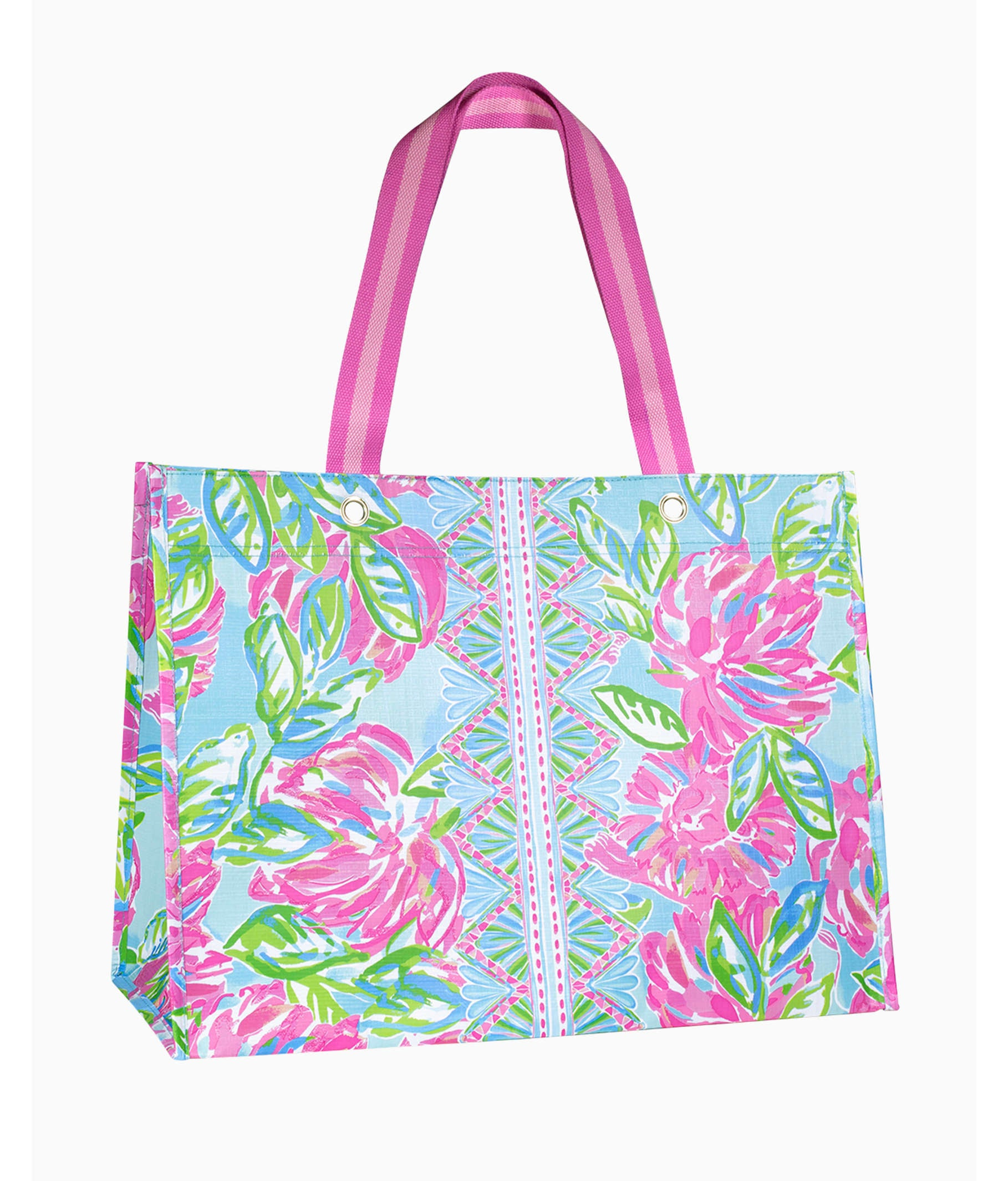 Lilly Pulitzer XL Market Tote, Totally Blossom