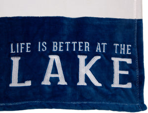 "Lake 50"" x 60"" Plush Blanket"