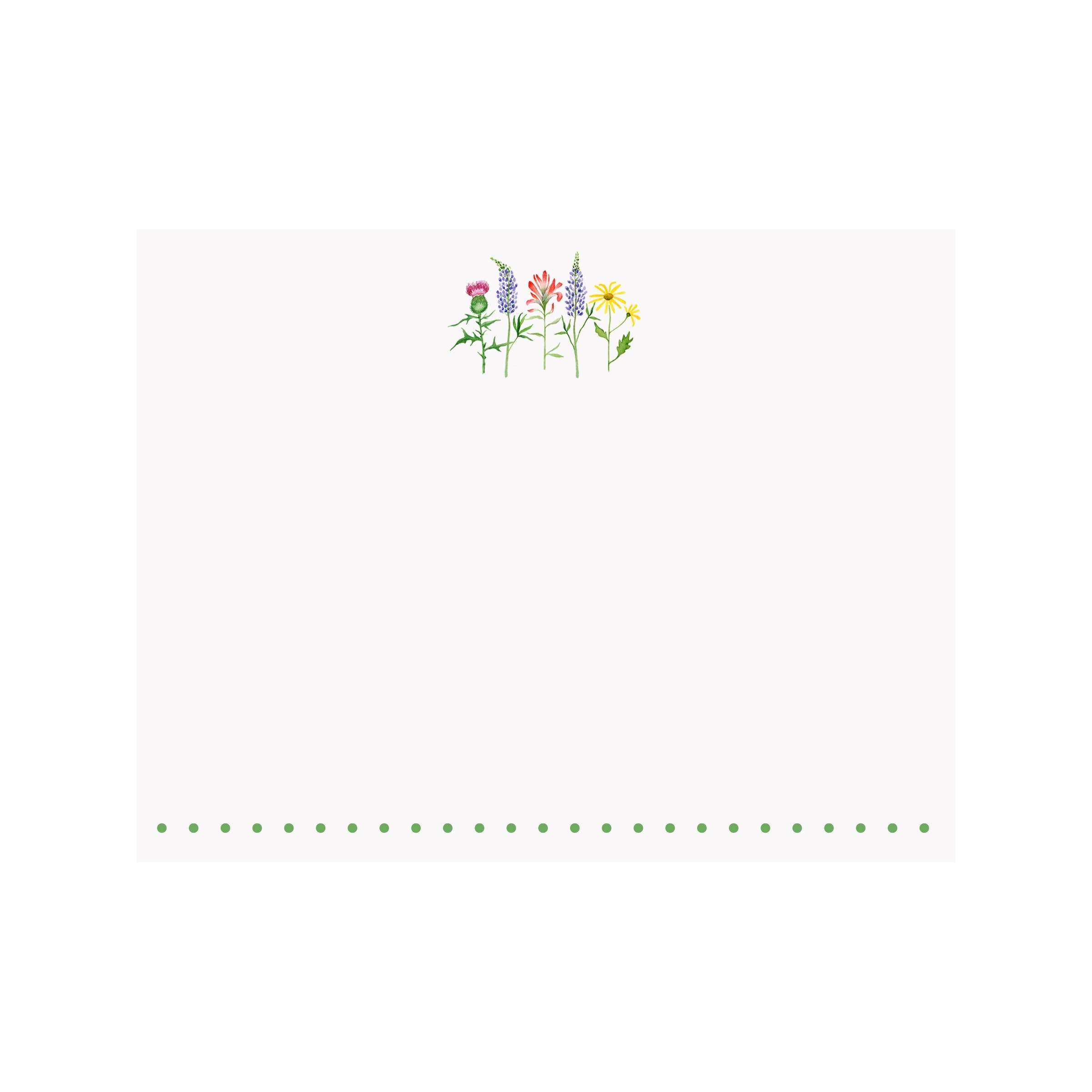 Wildflowers Flat Note Card