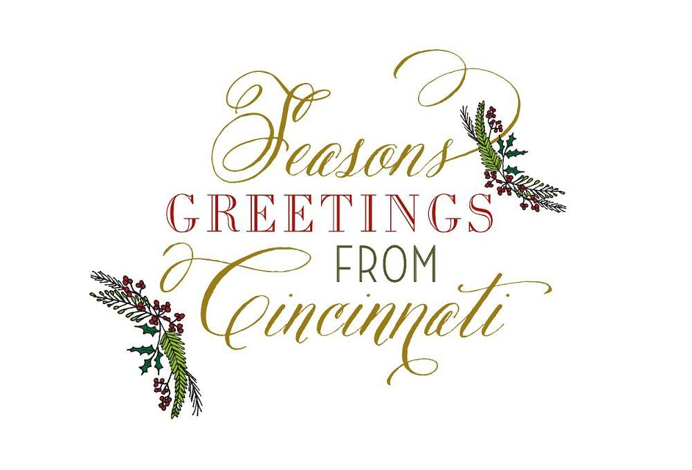 Seasons Greeting Postcard