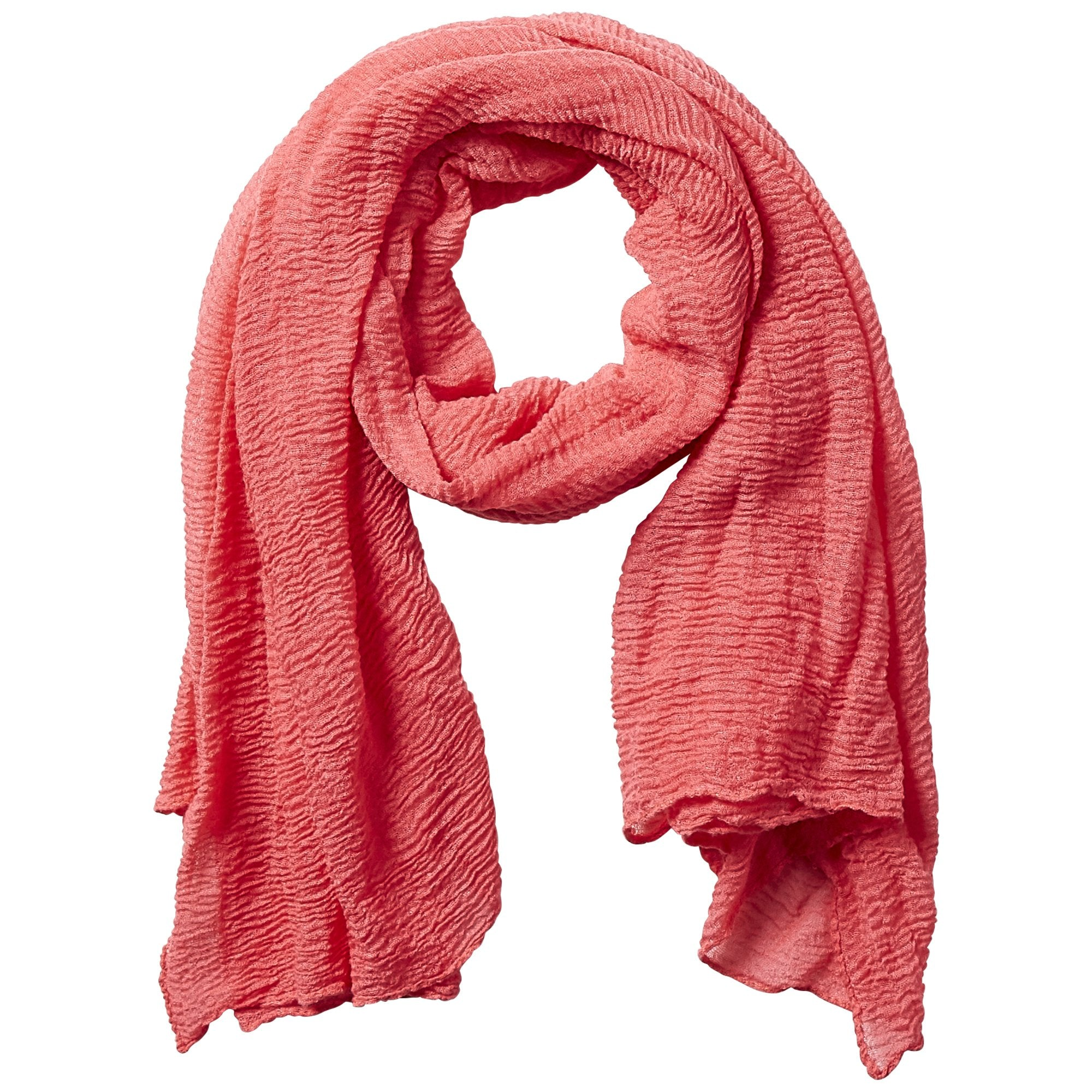 Insect Shield Scarf - Coral