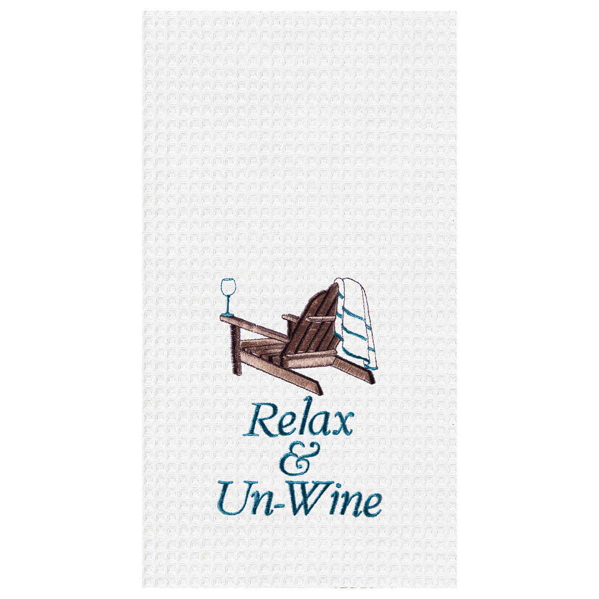 Relax & Un-Wine Towel
